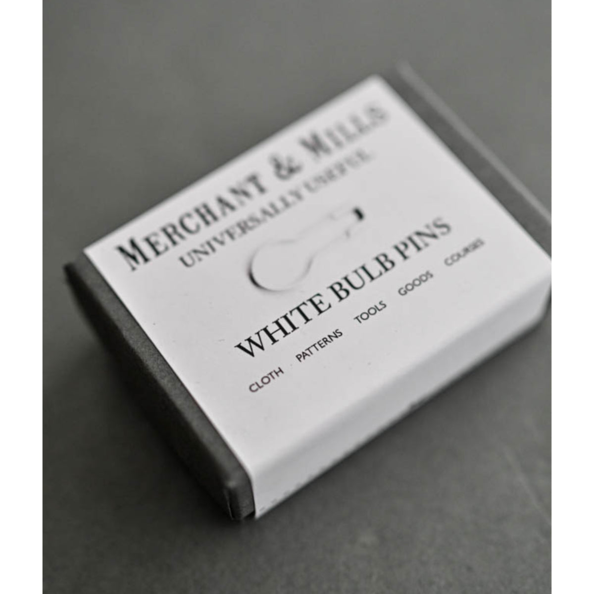 Merchant & Mills White Bulb Safety Pins