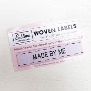 Woven Labels - Made By Me