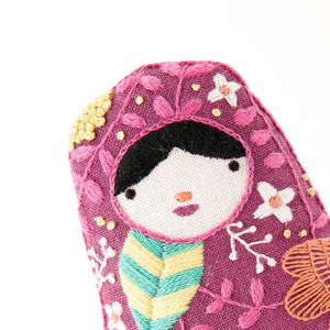 Matryoshka Embroidery Kit by Kiriki Press Embroidery Kit - Snuggly Monkey