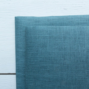 28 ct Cashel Linen - Mediterranean Sea Fabric - Snuggly Monkey