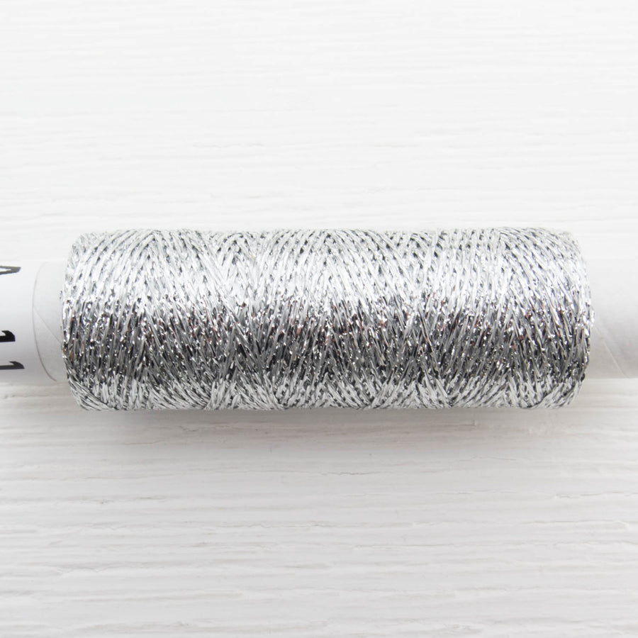 Olympus Metallic Embroidery Floss - Silver
