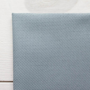 Misty Blue Aida Cross Stitch Fabric (16 ct)