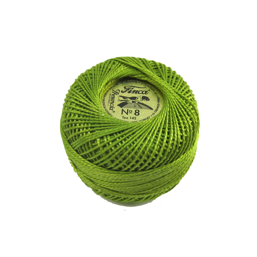 Moss Green Finca Pearl Cotton Thread (4812)