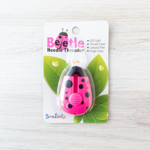 Needle Beetle :: LED Light Needle Threader Notions - Snuggly Monkey