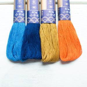 Yokota Sashiko Thread Collection - Fall Harvest Sashiko - Snuggly Monkey