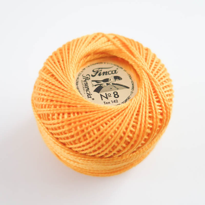 Presencia Finca Perle Cotton - Medium Gold (1227) Perle Cotton - Snuggly Monkey