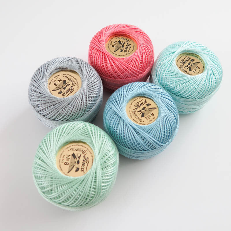 Presencia Finca Perle Cotton Thread Set - Anabelle Collection Perle Cotton - Snuggly Monkey