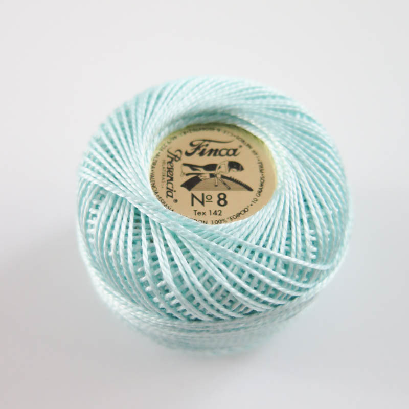 Presencia Finca Perle Cotton - Light Sea Green (4048)