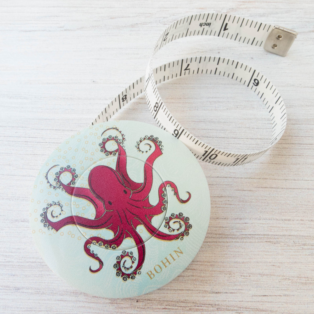 Bohin Tape Measure - Octopus Tape Measure - Snuggly Monkey
