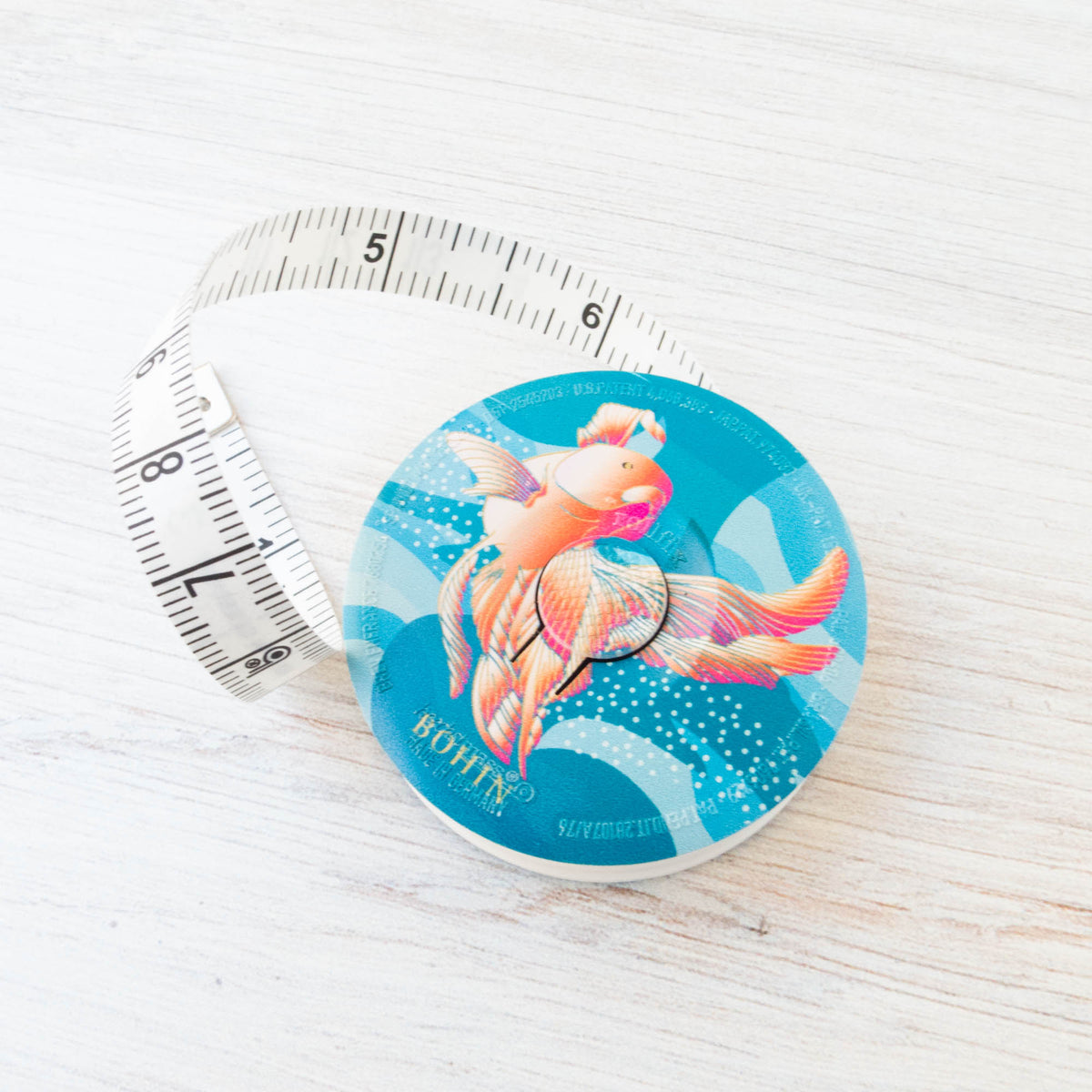 Bohin Tape Measure - Carp Tape Measure - Snuggly Monkey
