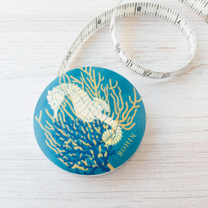 Bohin Tape Measure - Sea Horse Tape Measure - Snuggly Monkey