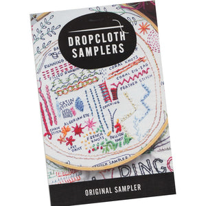 Dropcloth Embroidery Samplers :: Original Sampler Patterns - Snuggly Monkey
