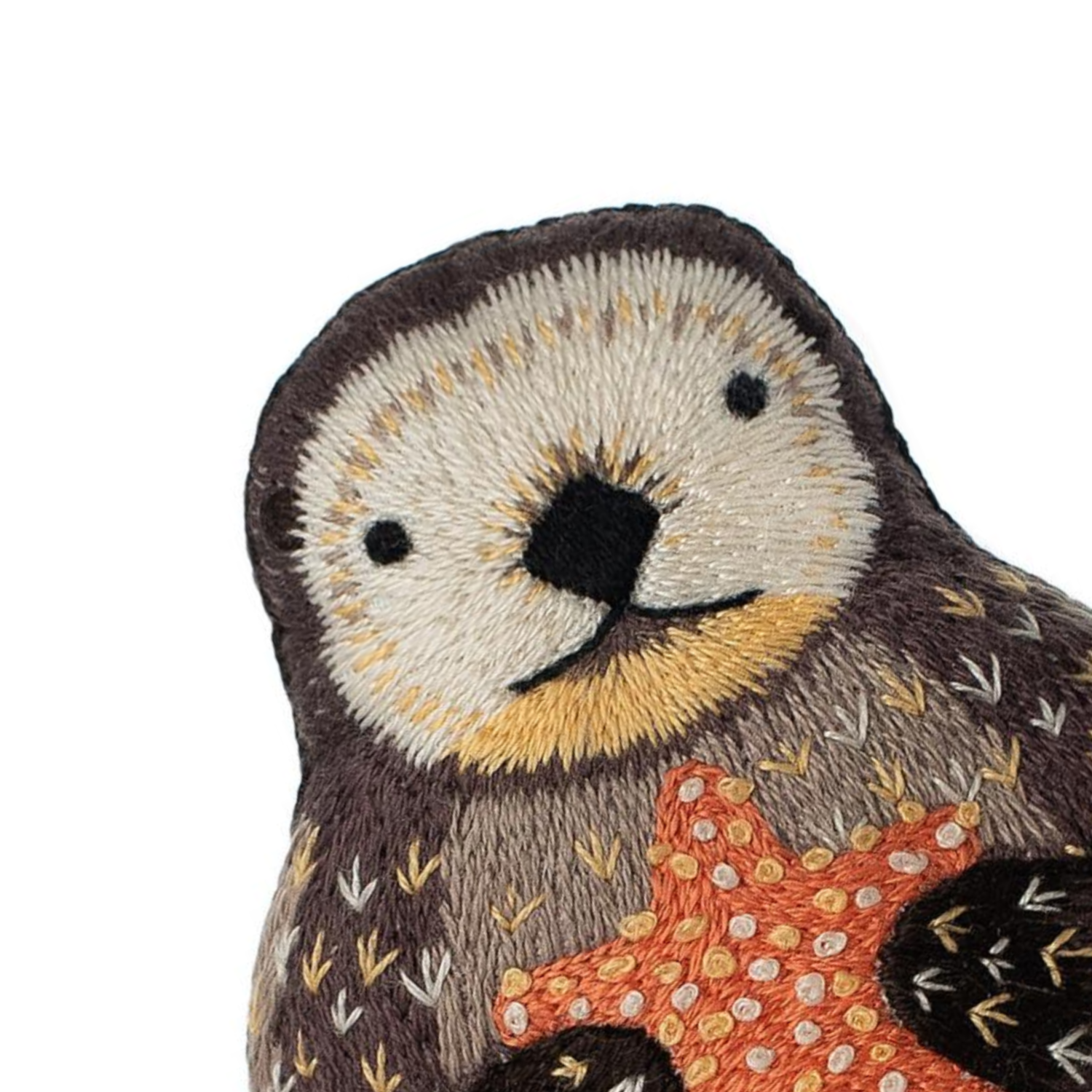 Otter Embroidery Kit by Kiriki Press Embroidery Kit - Snuggly Monkey