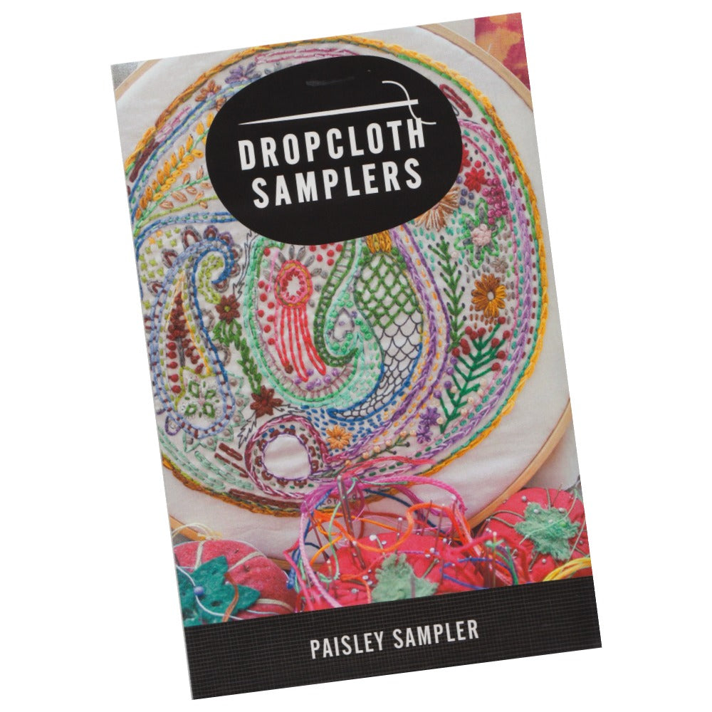 Dropcloth Embroidery Samplers :: Paisley Sampler Patterns - Snuggly Monkey