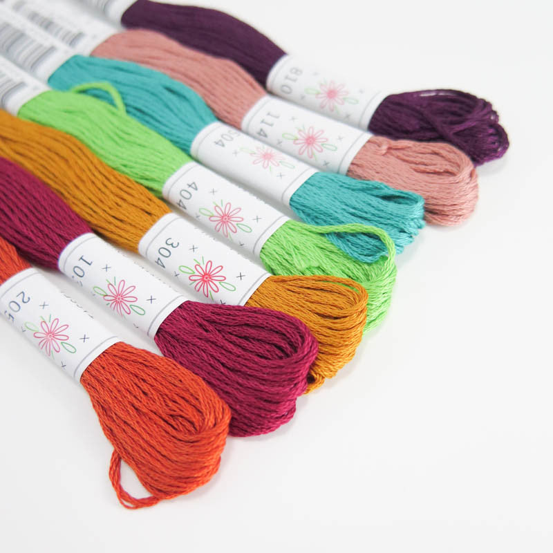 Parlour Embroidery Floss Set - Sublime Stitching Floss