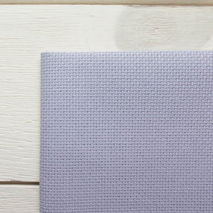 Aida Cross Stitch Fabric - Peaceful Purple (14 ct) Fabric - Snuggly Monkey