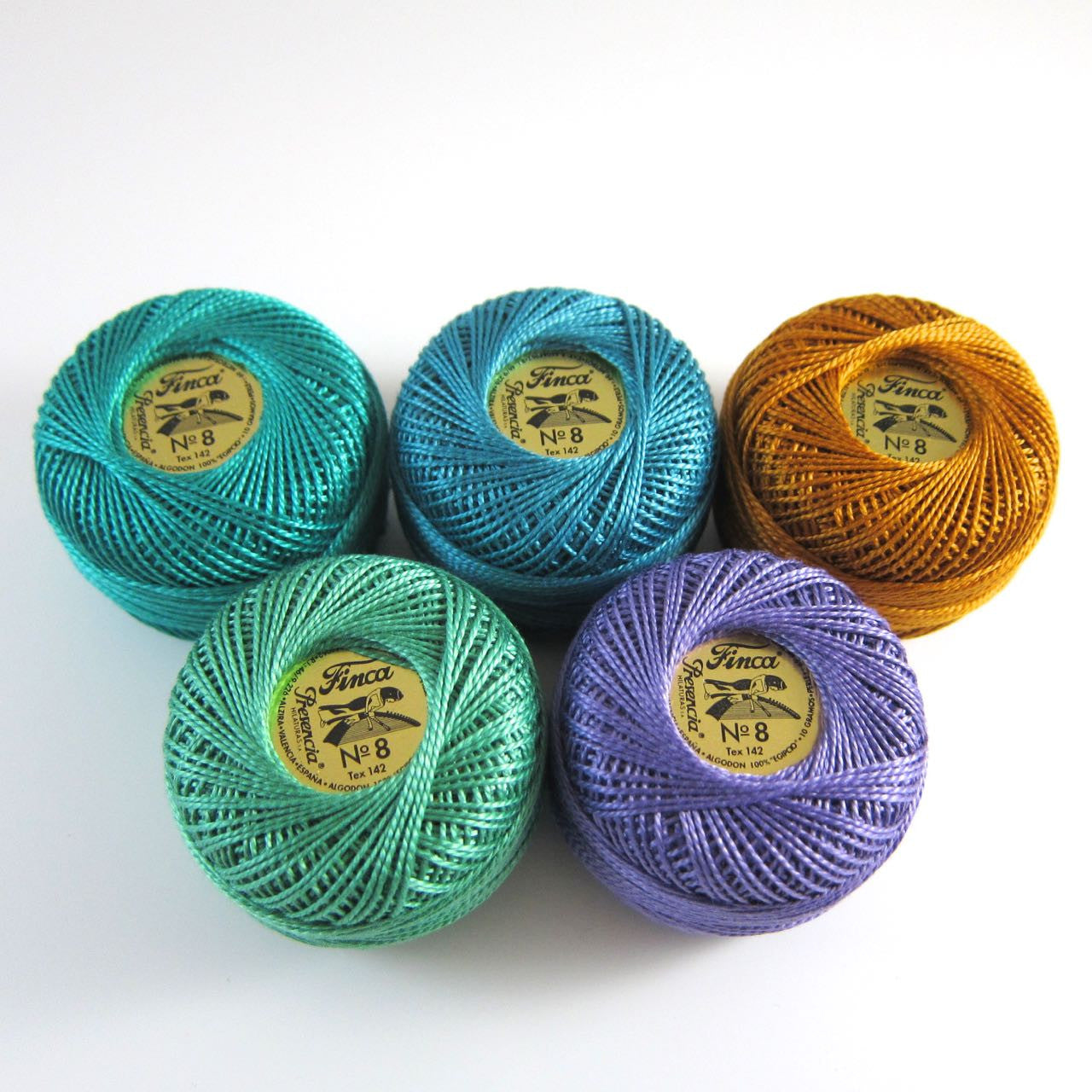 Peacock Pearl Cotton Thread Collection Perle Cotton - Snuggly Monkey