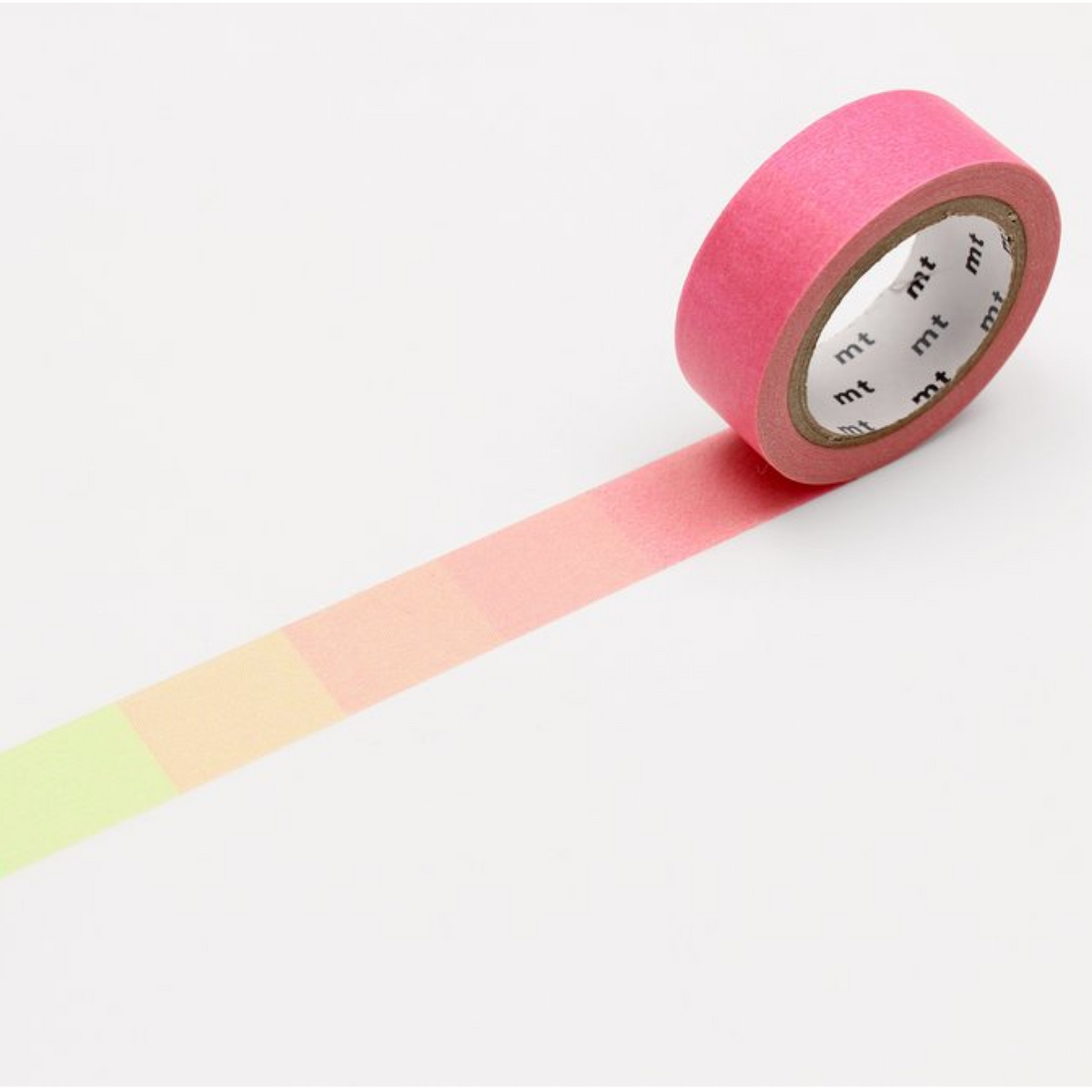 mt Washi Tape - Pink Green Gradient