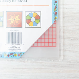 Non-Slip Vinyl Plastic Template Sheets Notions - Snuggly Monkey