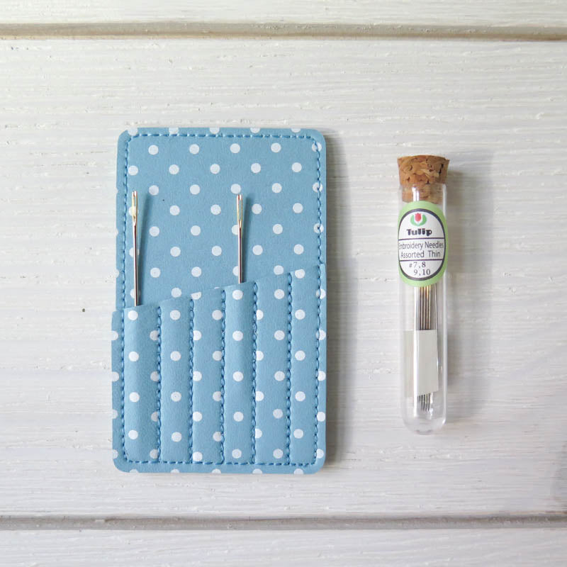 Polka Dot Needle Case