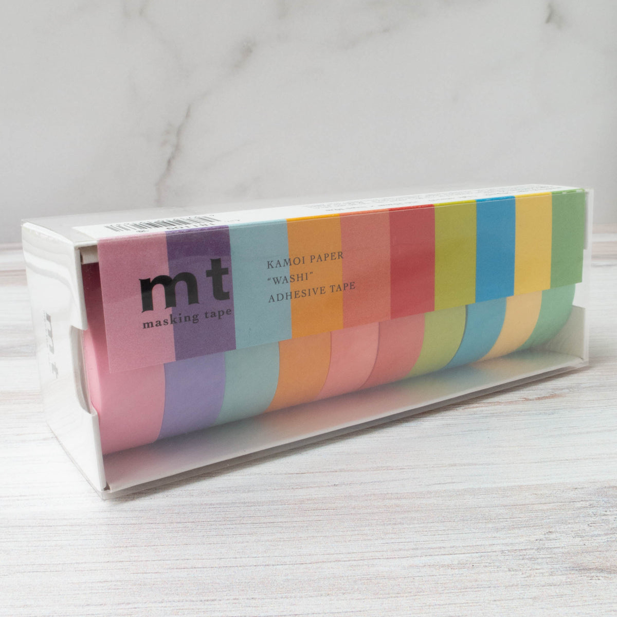 mt Washi Tape - 10 Solid Colors Pack