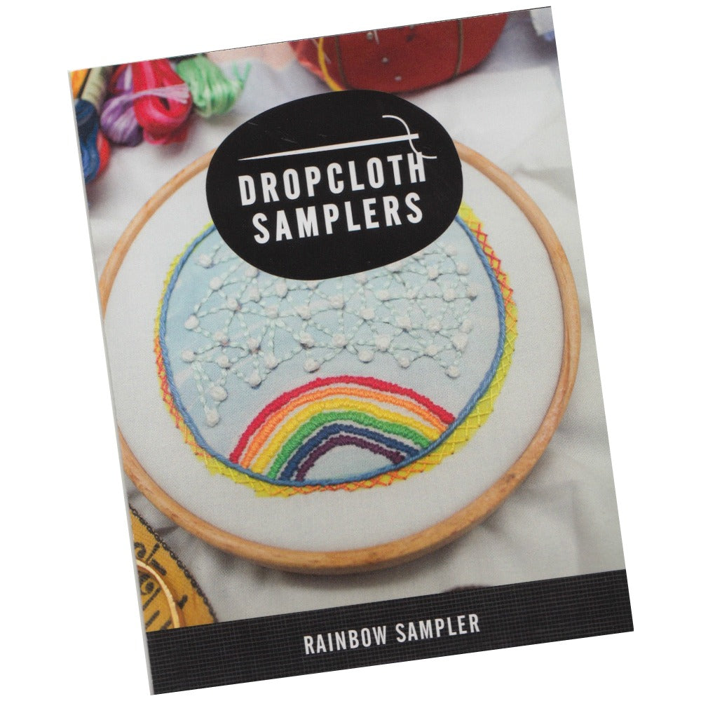 Dropcloth Embroidery Samplers :: Rainbow Sampler Patterns - Snuggly Monkey