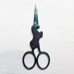 :: PRE-ORDER :: Rainbow Unicorn Embroidery Scissors Scissors - Snuggly Monkey