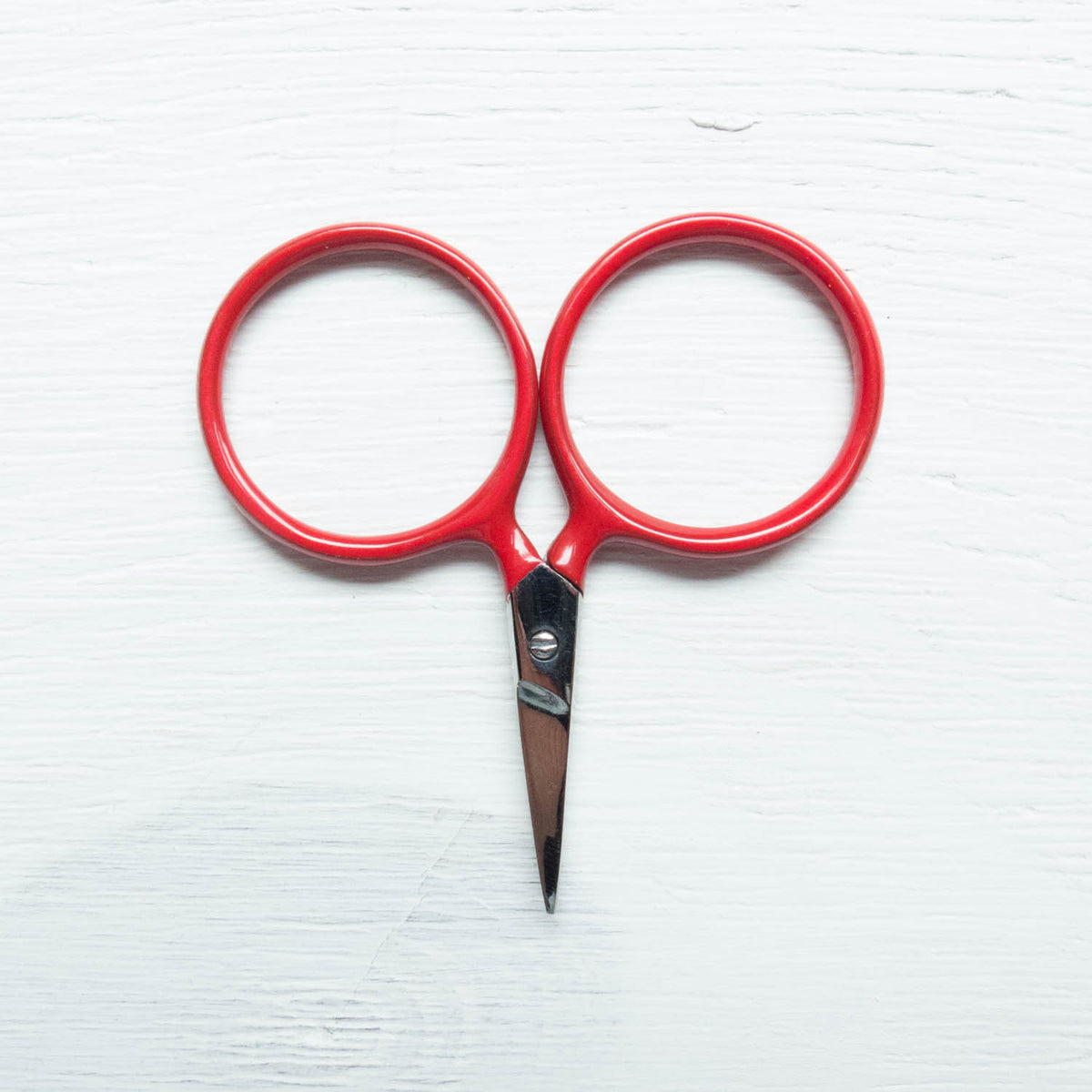 Modern Embroidery Scissors - Putford Red Scissors - Snuggly Monkey
