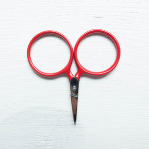 Modern Embroidery Scissors - Putford Red