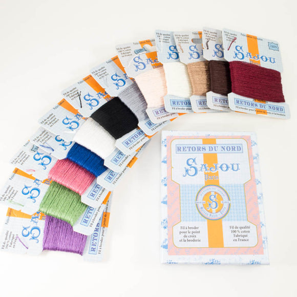 Retors de Nord Embroidery Floss Kit - Vintage Colors