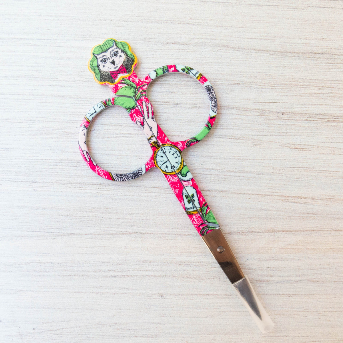 Bohin Embroidery Scissors - Owl