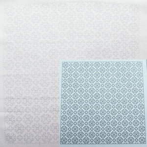 Sashiko Embroidery Kit -Hitomezashi Magurito (#1054) Sashiko - Snuggly Monkey