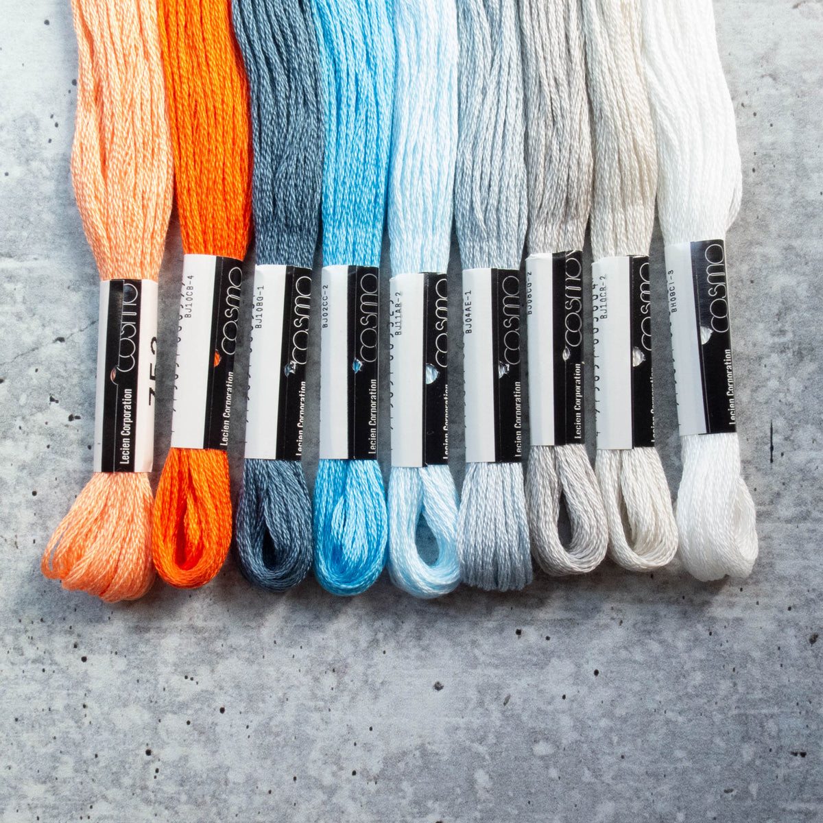 Cosmo Embroidery Floss Set :: Snuggly Monkey Collection