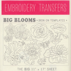 Sublime Stitching Embroidery Patterns - Big Blooms