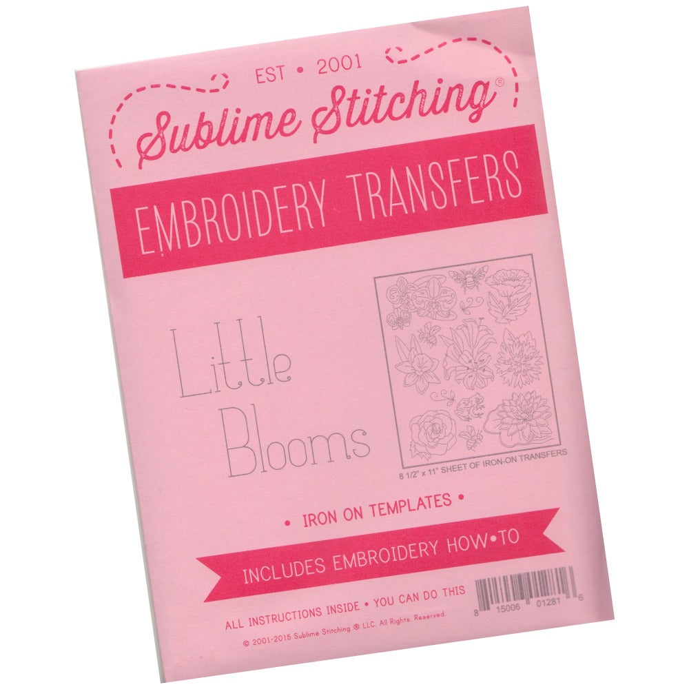Little Blooms Hand Embroidery Pattern | Sublime Stitching Patterns - Snuggly Monkey