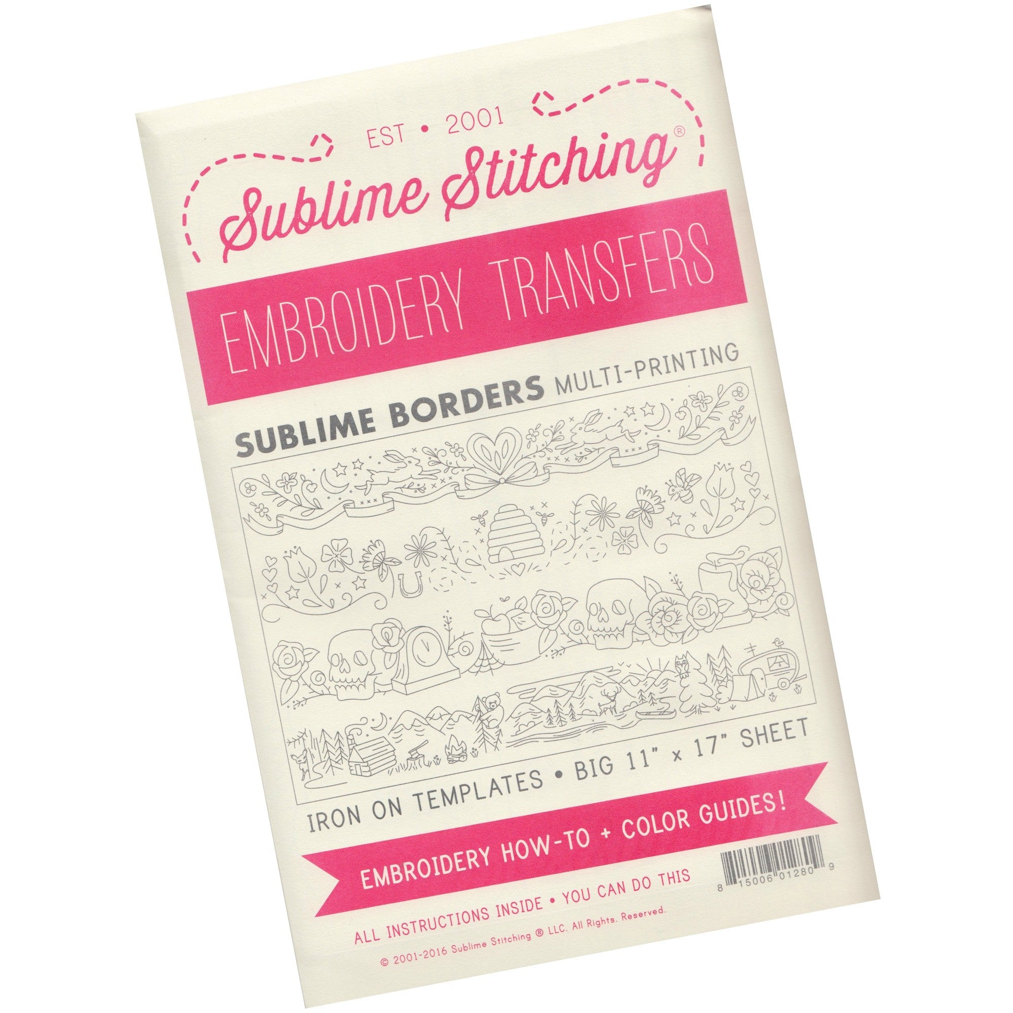 Sublime Stitching Embroidery Patterns - Sublime Borders Patterns - Snuggly Monkey