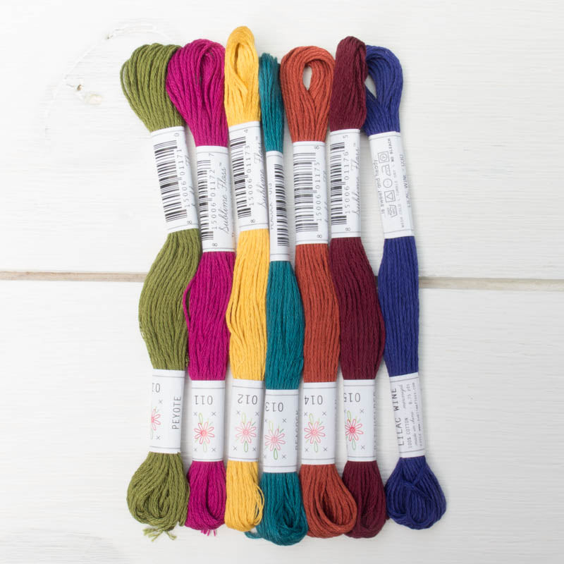 Sublime Stitching Laurel Canyon Embroidery Floss Set