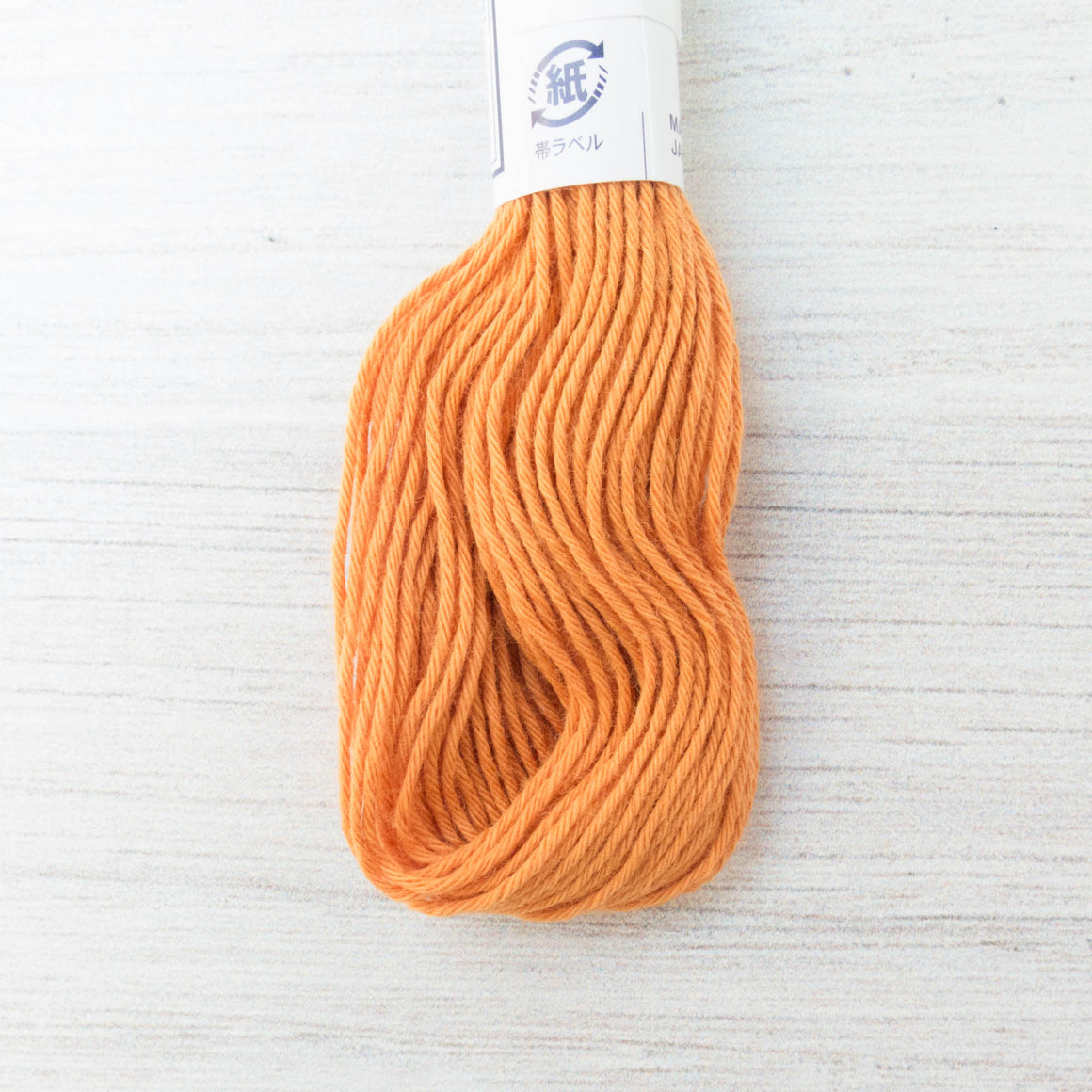 Japanese Olympus Sashiko Thread - Carrot Orange (#4) Sashiko - Snuggly Monkey