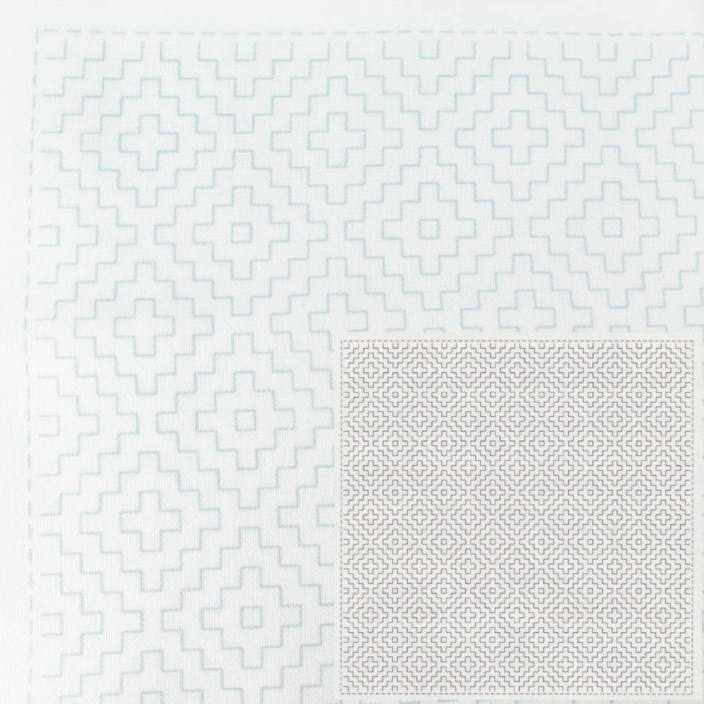 Sashiko Embroidery Kit -Hitomezashi 1017