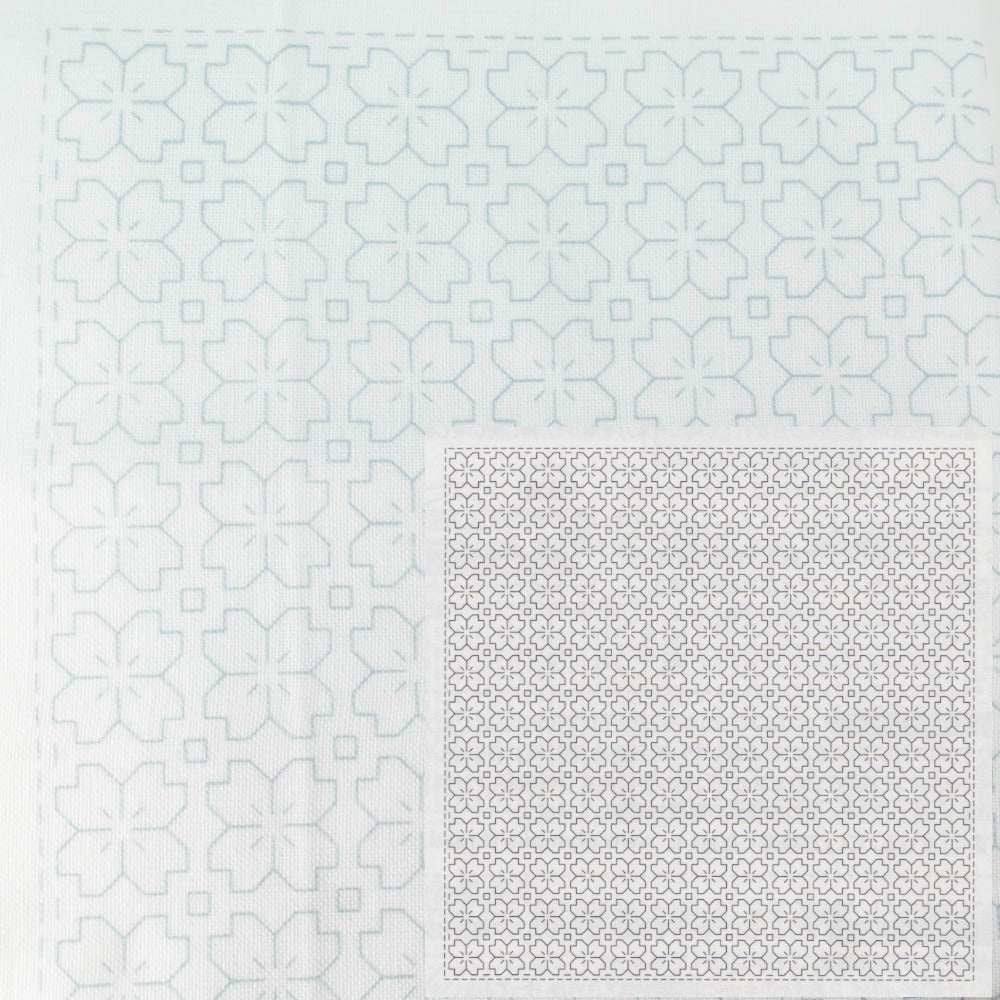 Sashiko Embroidery Kit -Hitomezashi 1033