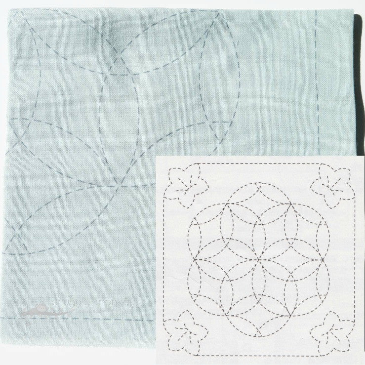 Sashiko Kit - Japanese Embroidery Pattern No 480