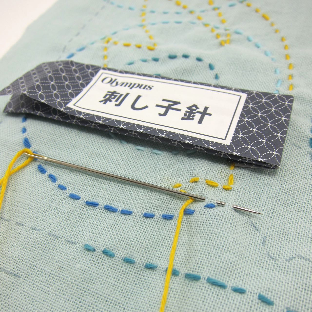 Japanese Sashiko Needles by Olympus Sashiko - Snuggly Monkey