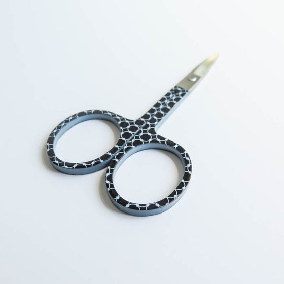 Black and White Embroidery Scissors