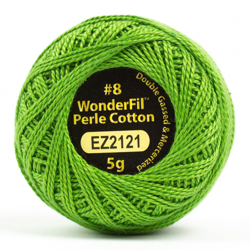 Alison Glass Wonderfil Perle Cotton - Shamrock (2121)