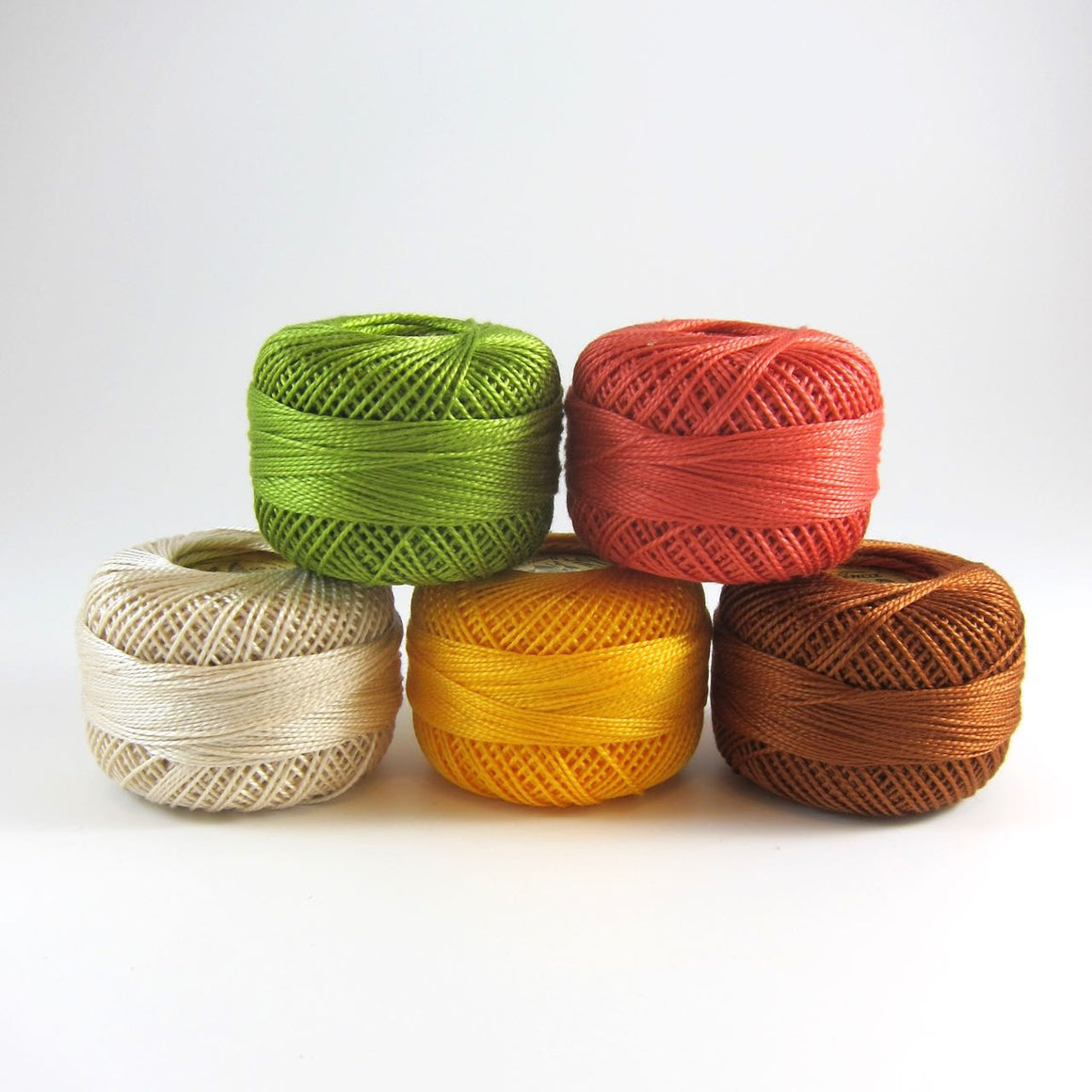 Sherbert Pearl Cotton Thread Set (5 colors)
