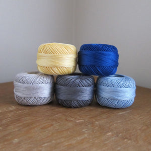 Summer's Day Pearl Cotton Thread Collection
