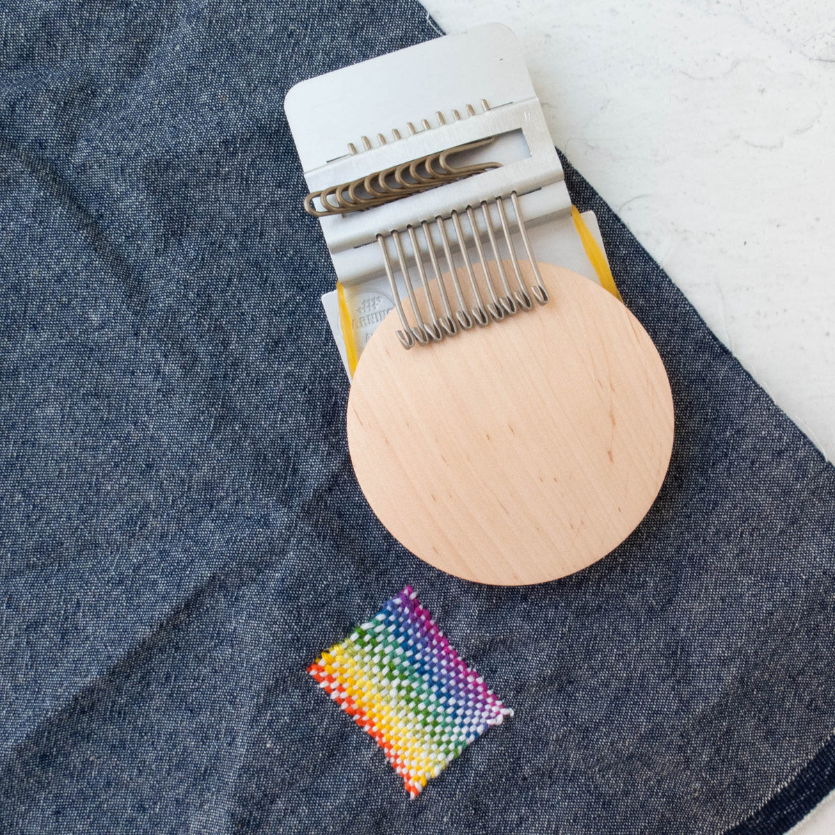 Speedweve Style Small Mending Loom (10 hook)
