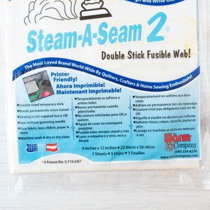 Steam A Seam 2 Fusible Web Notions - Snuggly Monkey