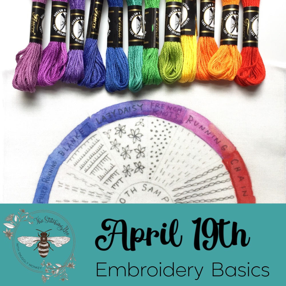 The Stitching Bee :: April 19, 2019