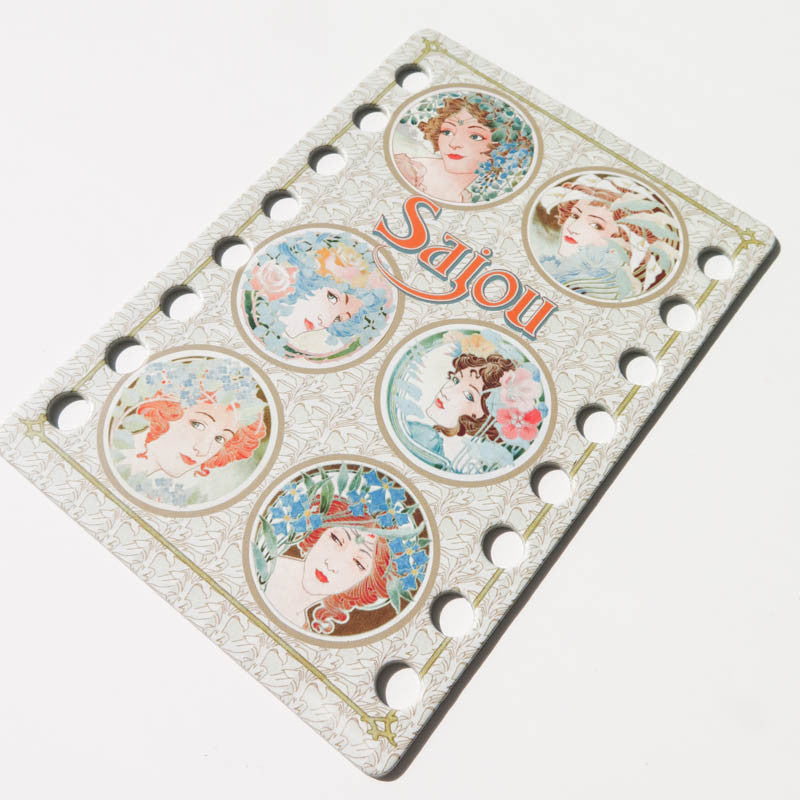 Art Nouveau Thread Organizer Floss Organizer - Snuggly Monkey